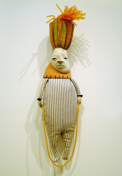 Juliellen Byrne | CECIL | ceramic, cotton, surgical tubing