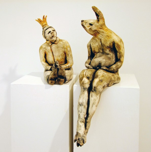 Juliellen Byrne | RABBIT KING | ceramic
