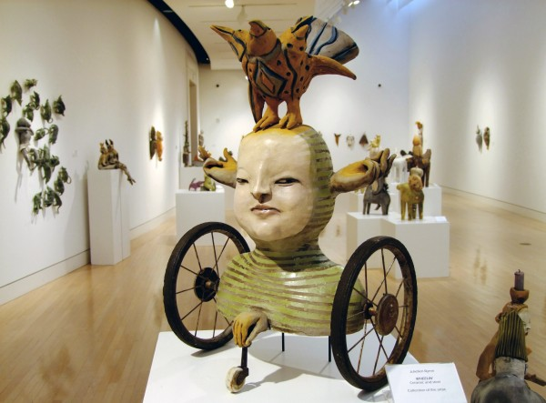 Juliellen Byrne | WHEELIN' | ceramic and steel