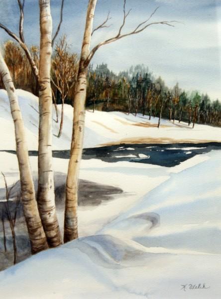 K. Welch | watercolor