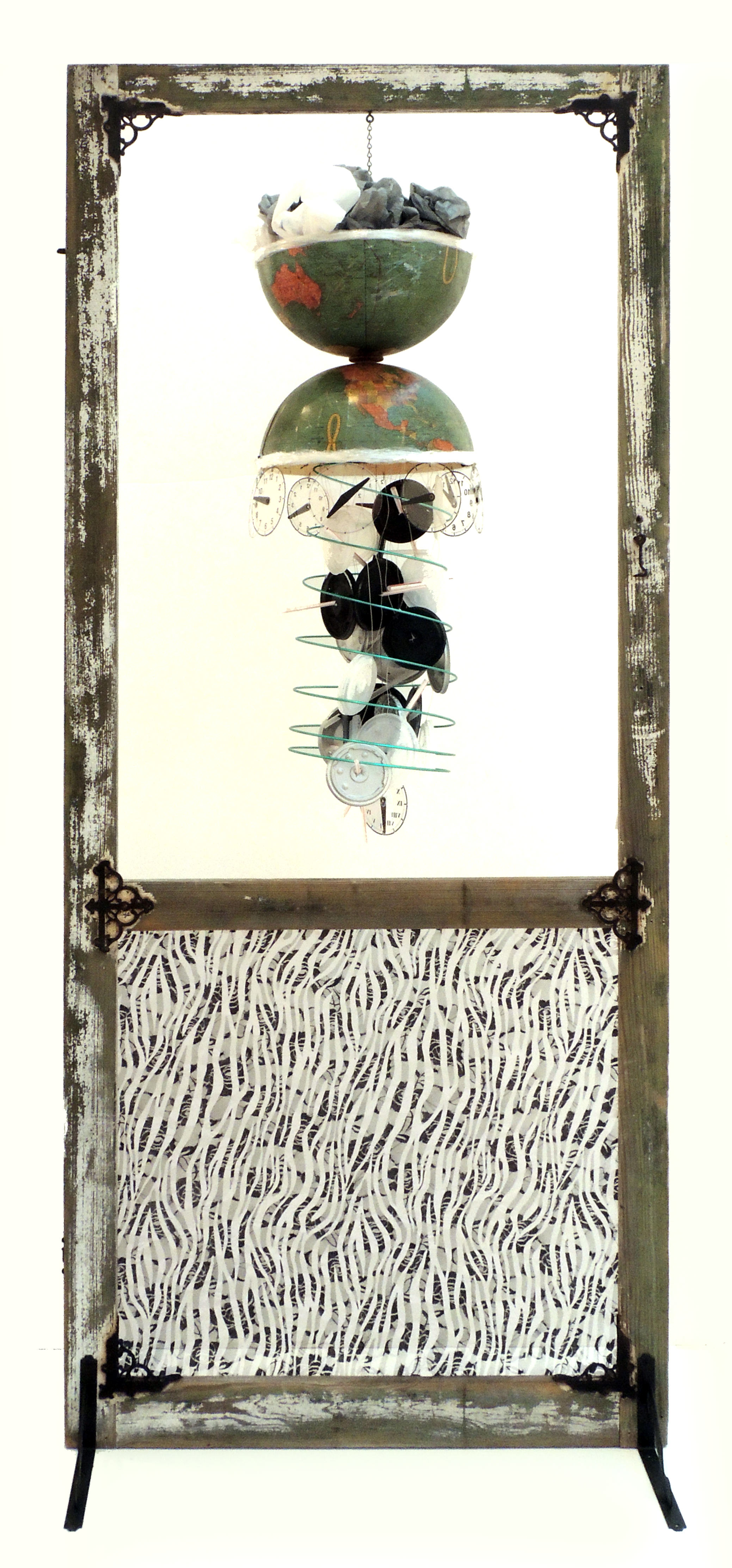 Kay Nutter | TOO LATE | Mixed media