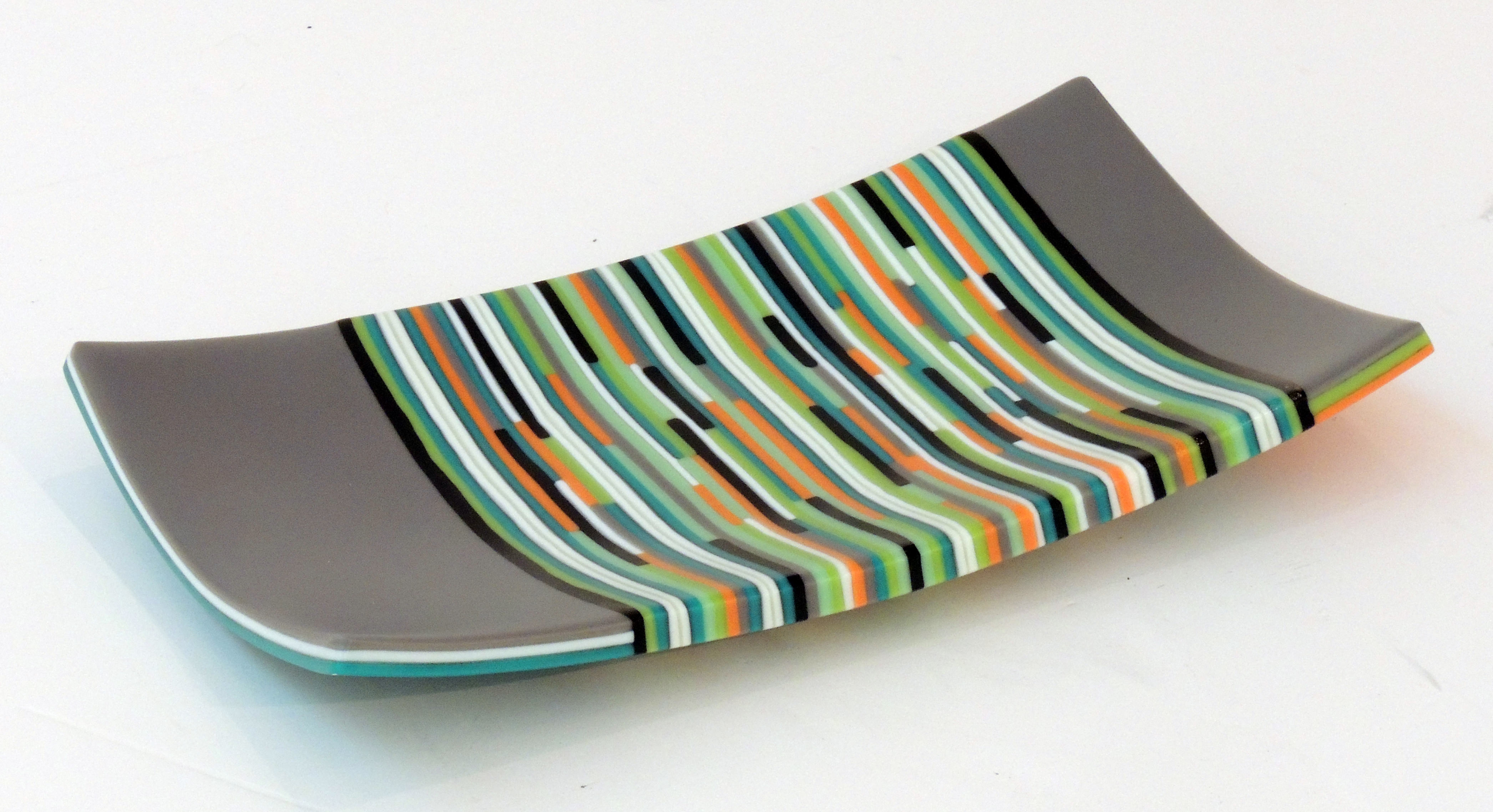 Kevin Tunstall | STRIP ON CONSTRUCTION | Fused glass