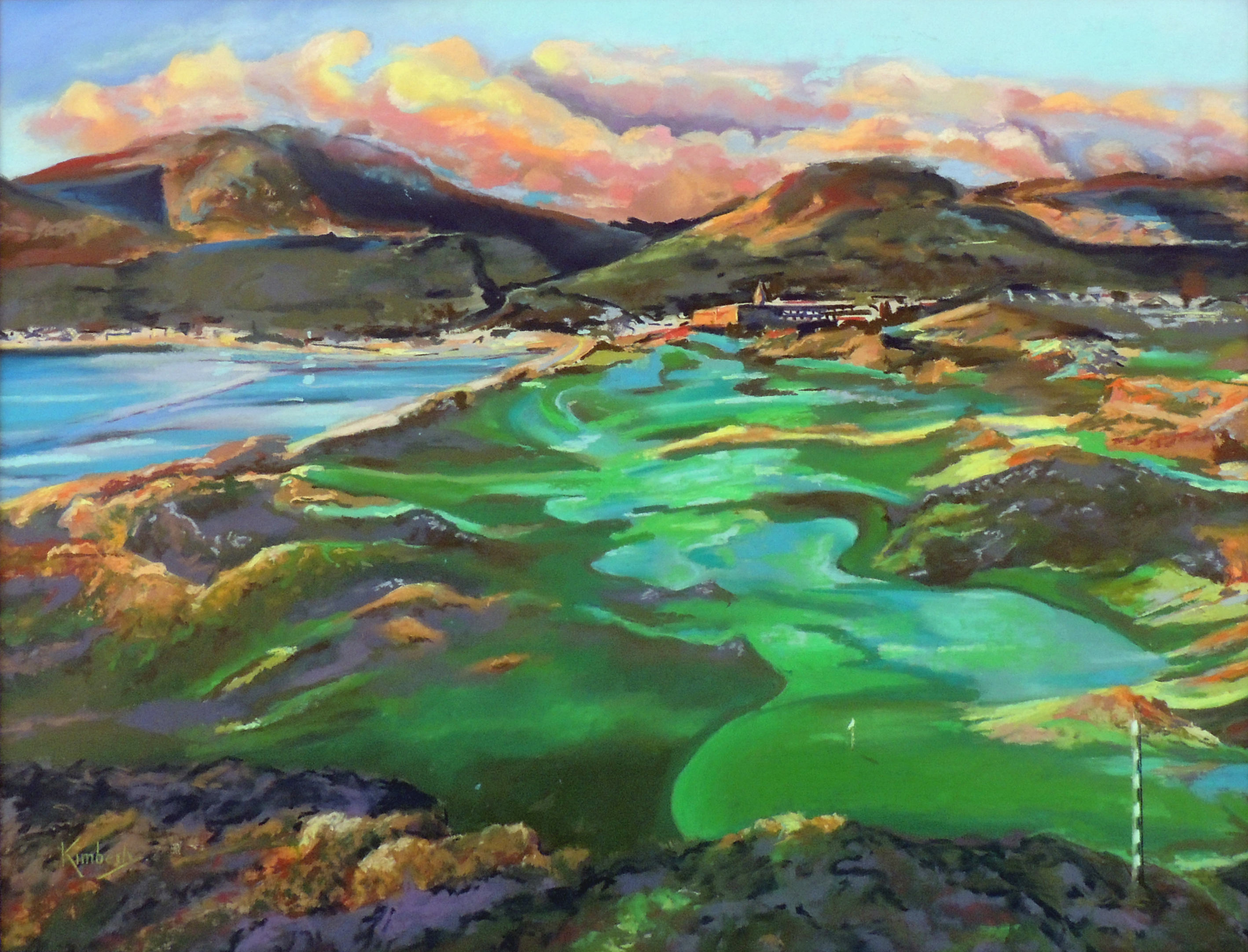 Kim Ceccarelli | ROYAL COUNTY DOWN | Pastel