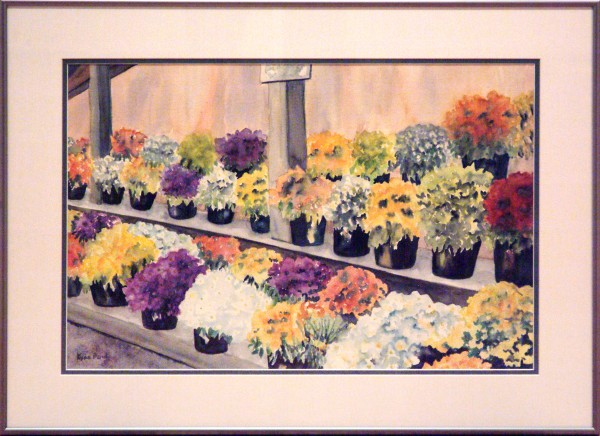 Kyna Paul | MUMS FOR SALE | transparent watercolor | 2013