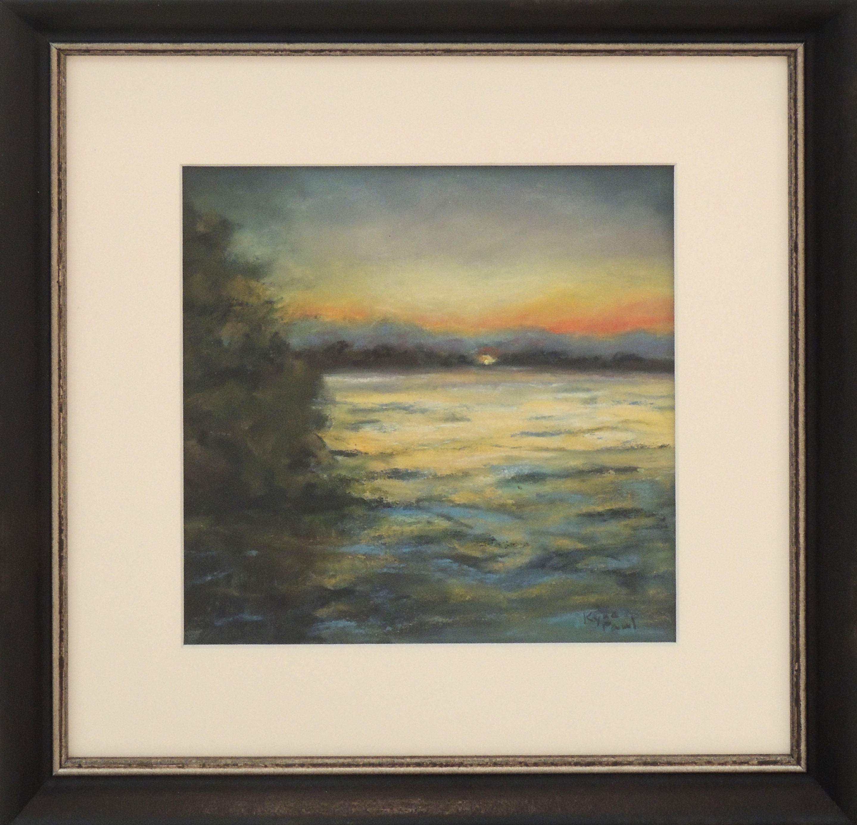 Kyna Paul | SUNSET AT INDIAN LAKE | Pastel