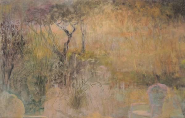 Larry Shineman   ASHLEY SUNSET   oil on canvas   1995-2013
