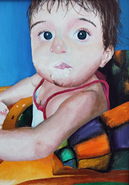 Letecia Leep | MAZARIEGOS GENERATIONS | acrylic on canvas | 2016