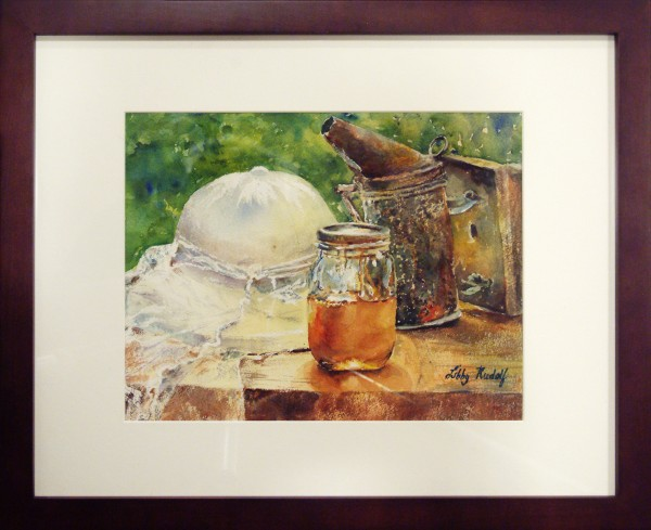 Honorable Mention | Libby Rudolph | HONEY BIZ | transparent watercolor | 2013