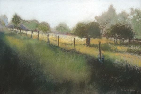 First Place Amateur Drawing/Pastel | Linnae Wilson | MISTY MORNING