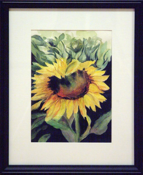 Linnae Wilson | NATURE'S SUNSHINE | transparent watercolor | 2013