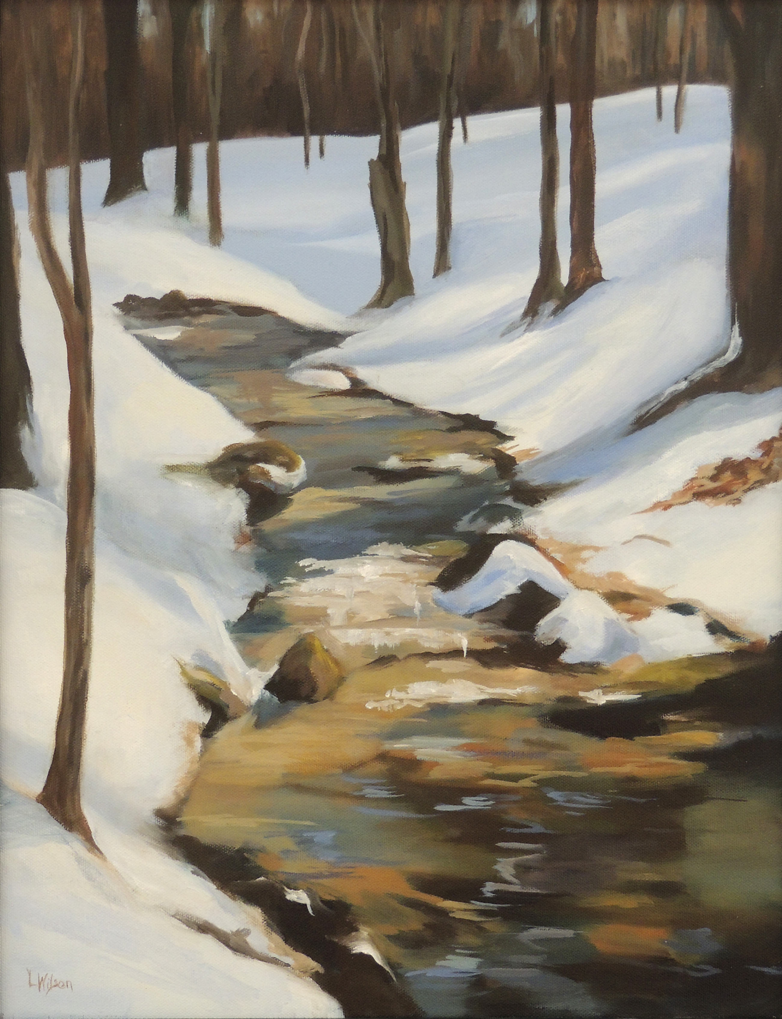 Linnae Wilson | STILL WINTER | Oil