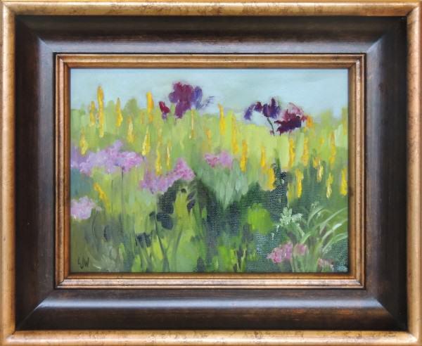 """Linnae Wilson   ST. JOHNS   oil   9 x 12"""""""