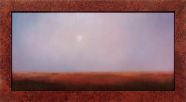 Lisa Eastman | PRAIRIE MOON | oil | 8 x 16""