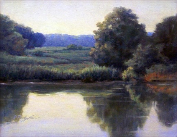 Diane Farr | MORNING GLOW | oil | Best of Show