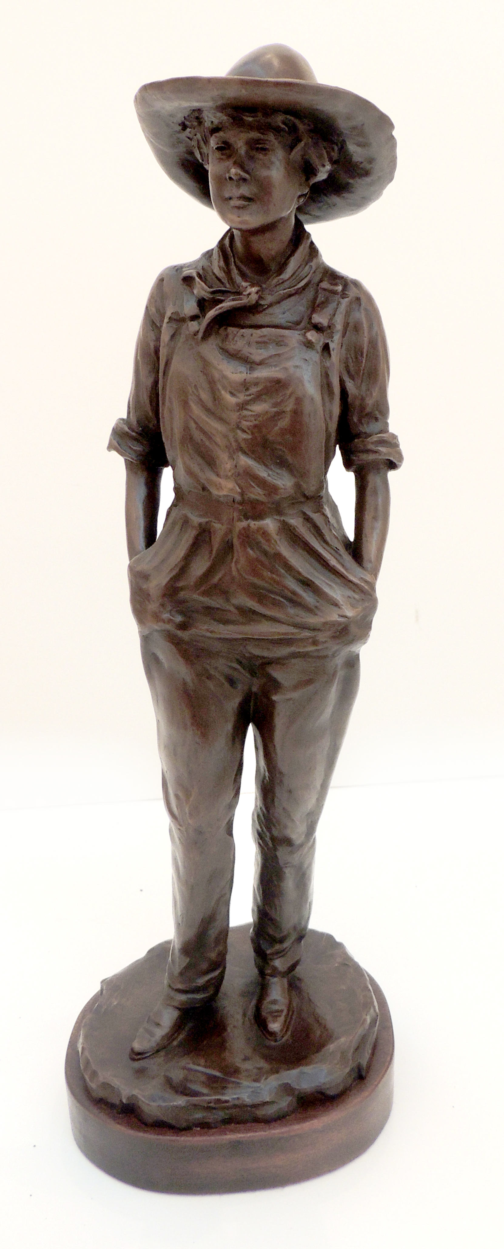 Lynda Pauley | Prairie Girl	| Bronze