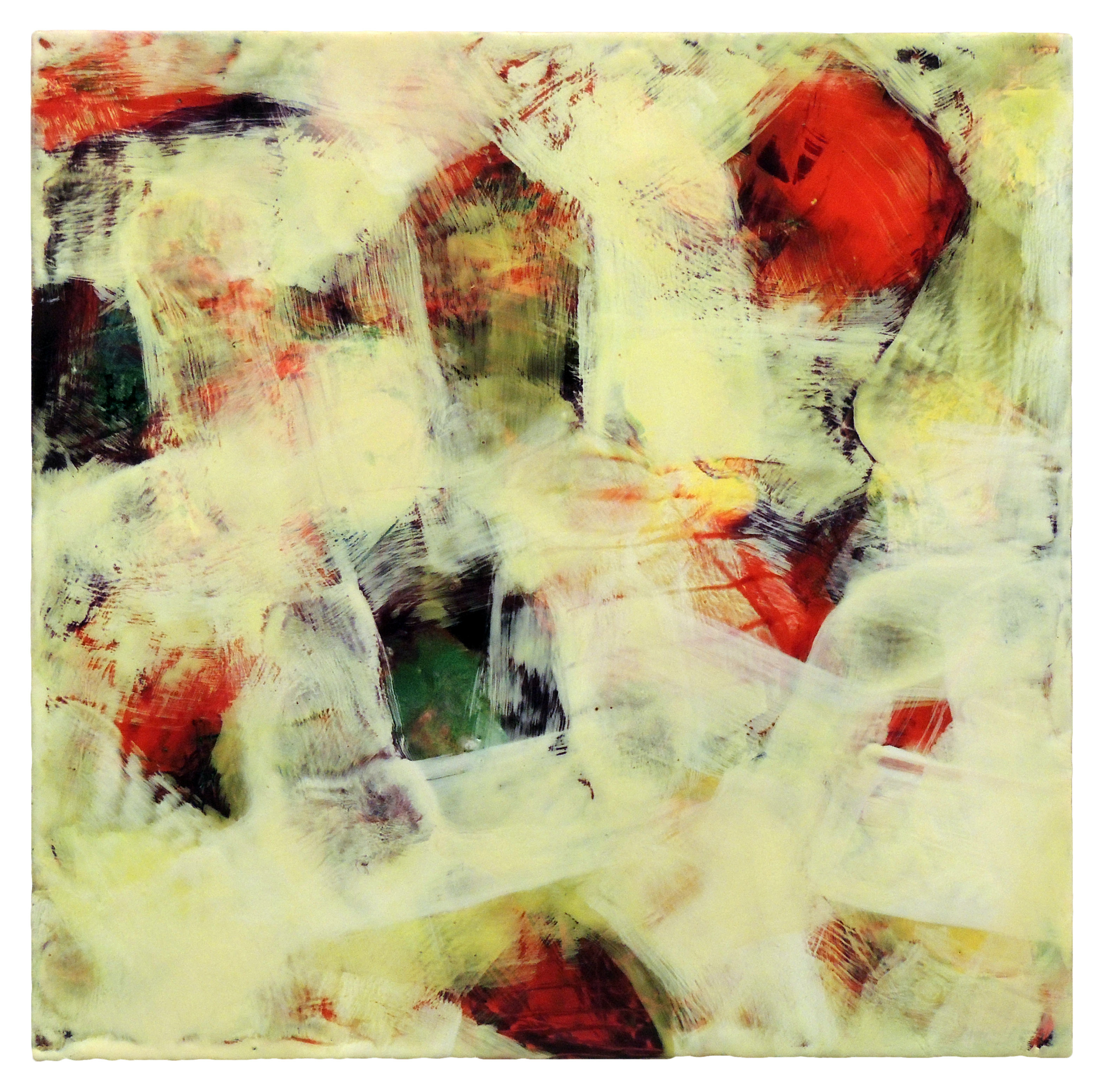 M. Linda Fischer | OUT OF THE BOX | Encaustic with Oil