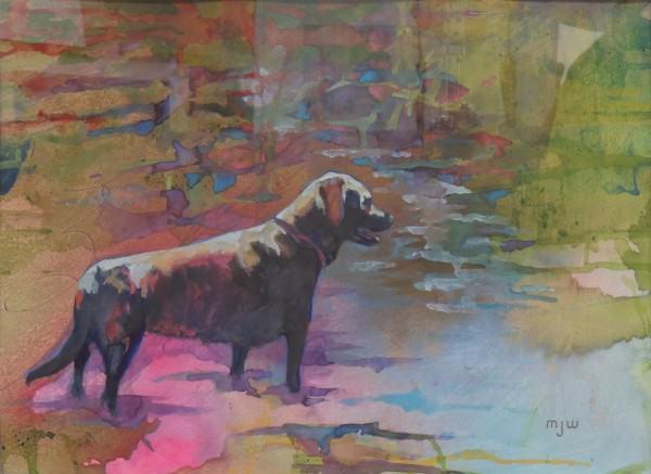 Second Place Professional | Watercolor | M.J. White | LA LUNA
