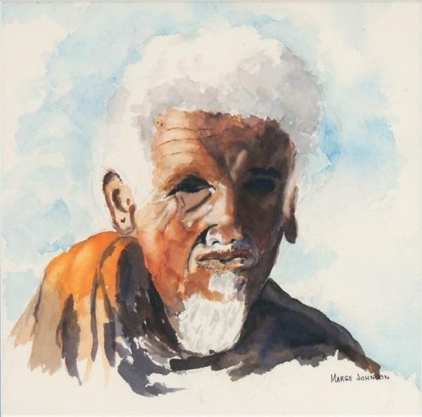Second Place Amateur Watercolor | Marge Johnson | ETHIOPIA- 1962