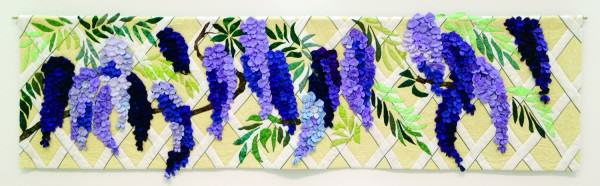 First Place Professional | Mixed Media/Fiber | Marianne Britton Rabb 	| WISTERIA ARBOR