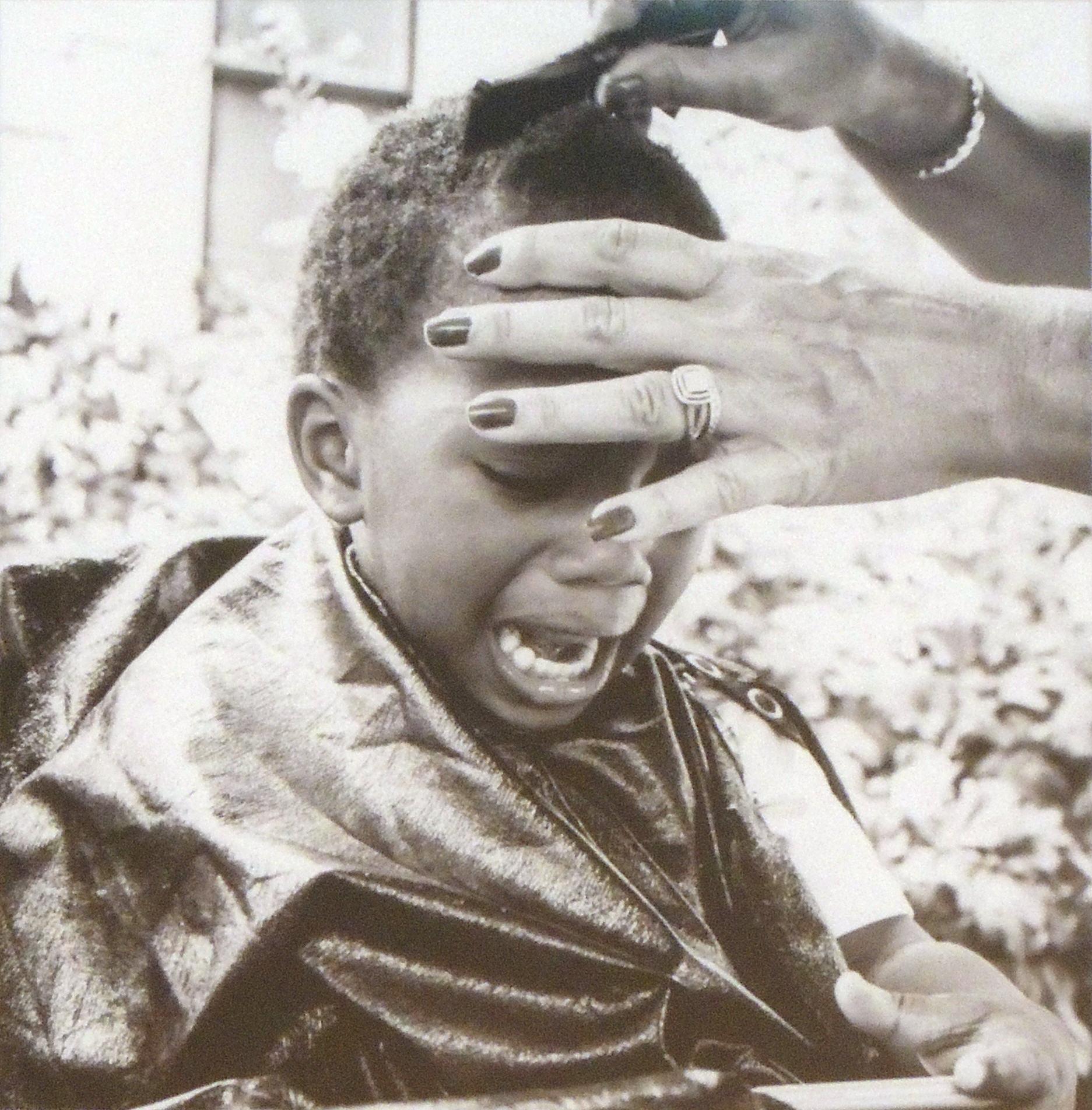 Martha Barnes | THE HAIR CUT | Photograph