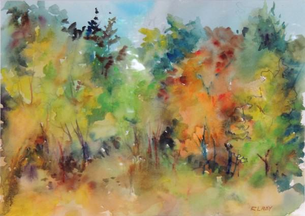 Mary Ann Clady | GORMAN PRAIRIE | watercolor | 8 x 11""