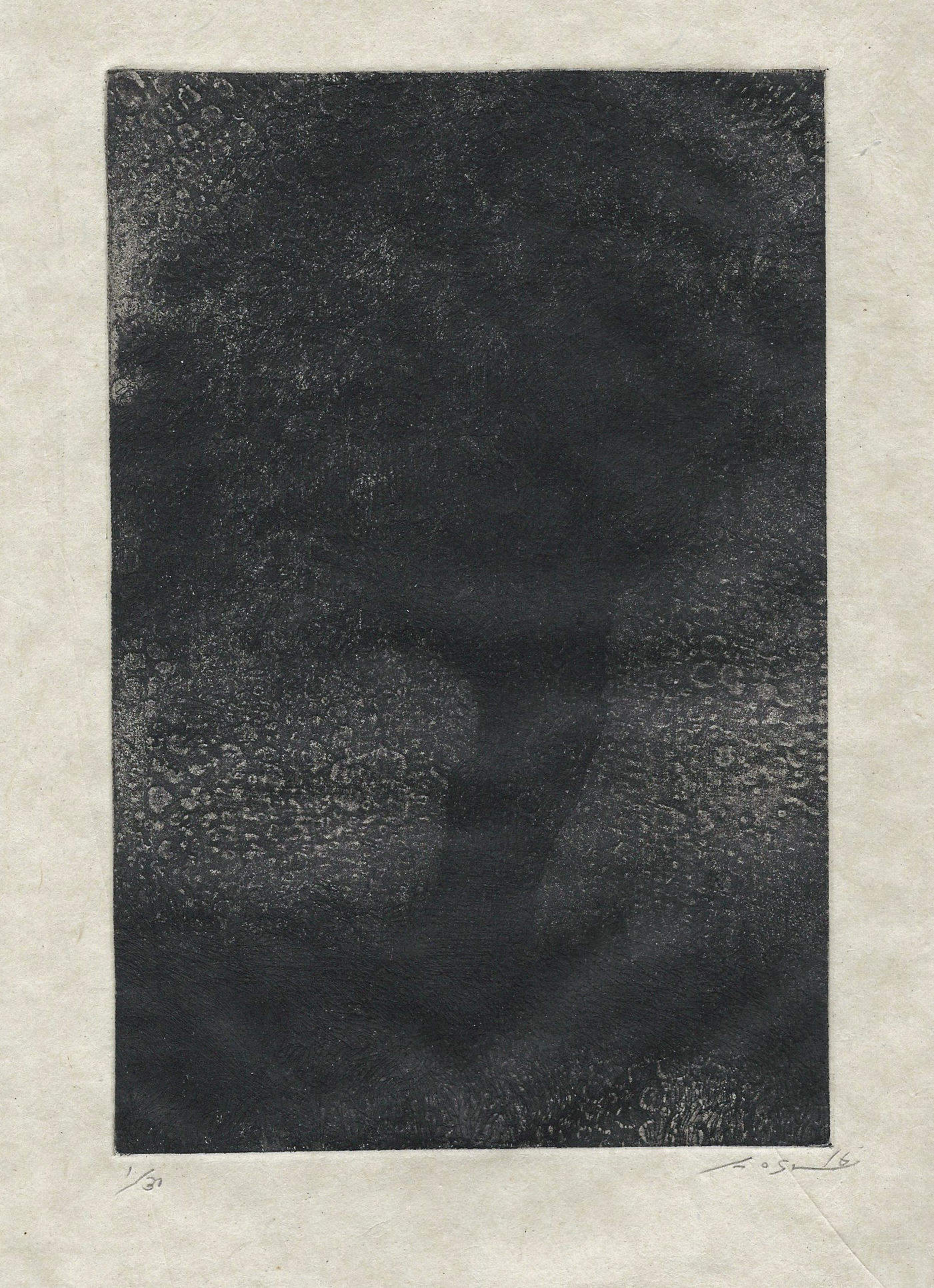 Masaki Nose | A SHAKING TREE | etching, aquatint | 8x6 | 2016