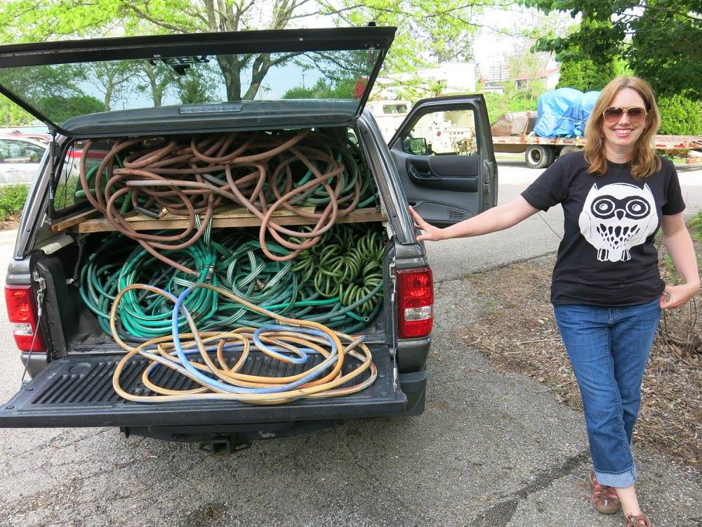 michele-steitzlen-picks-up-hoses