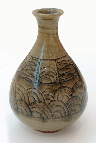 Naysan McIlhargney | INLAID BOTTLE | woodfired stoneware