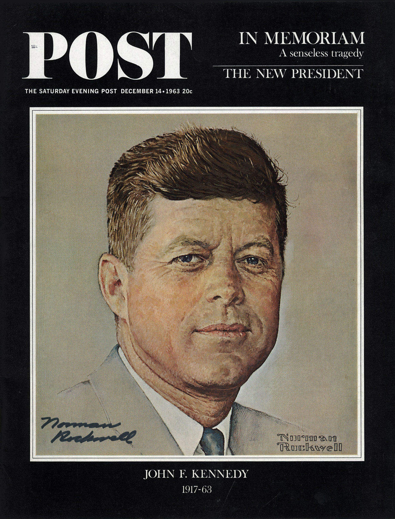 Normal Rockwell | KENNEDY | Dec 14, 1963