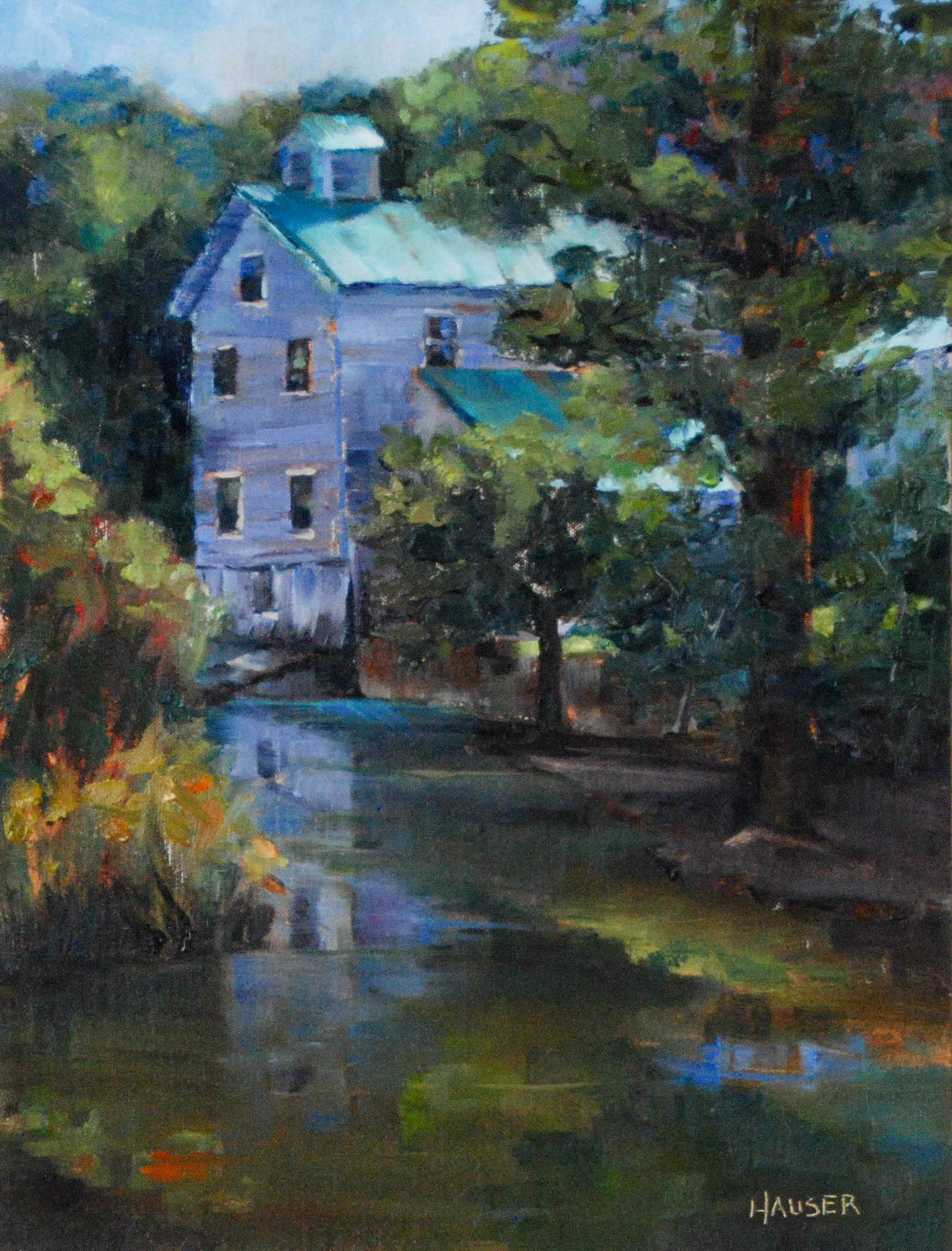 Alice Hauser | SUMMER MORNING AT WILSON FEED