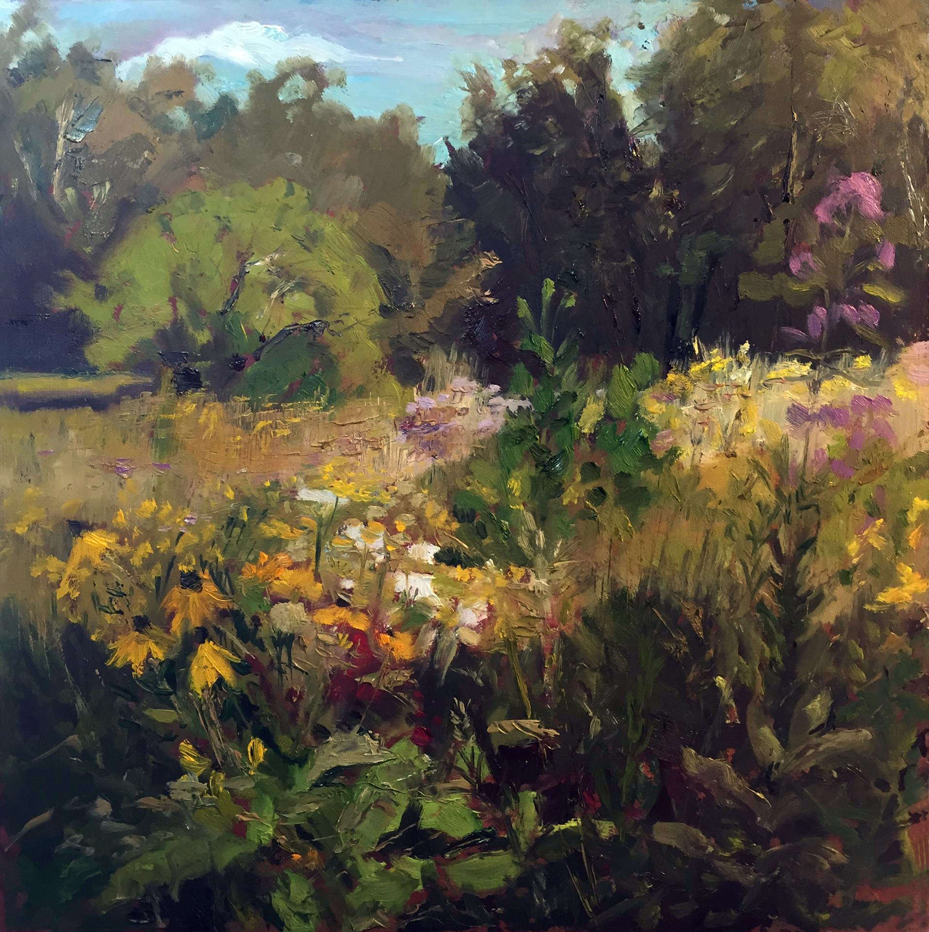Angela Gage | PRAIRIE SUNSHINE | oil | 12x12