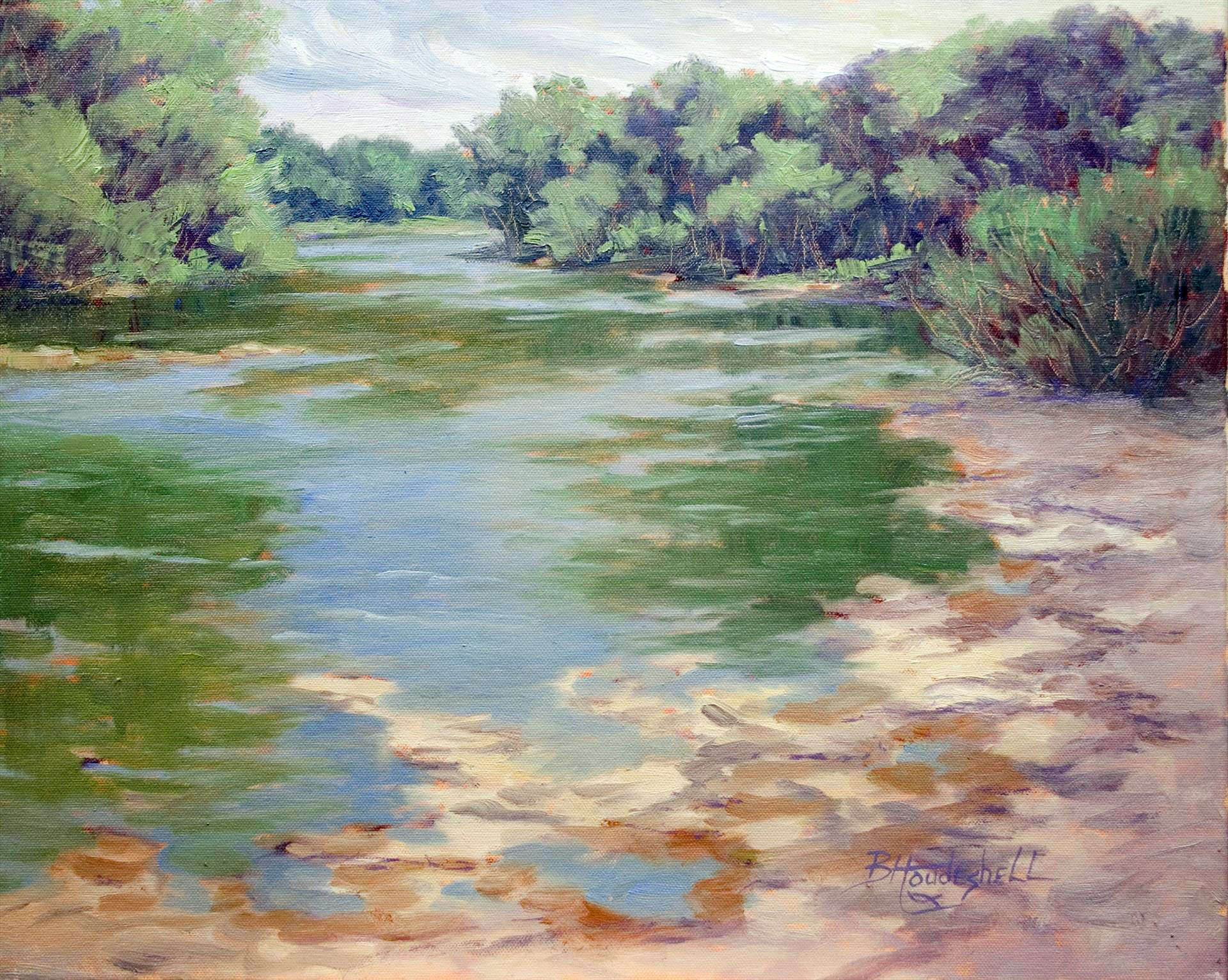 Barbara Houdeshell | RIVER VOICES | oil