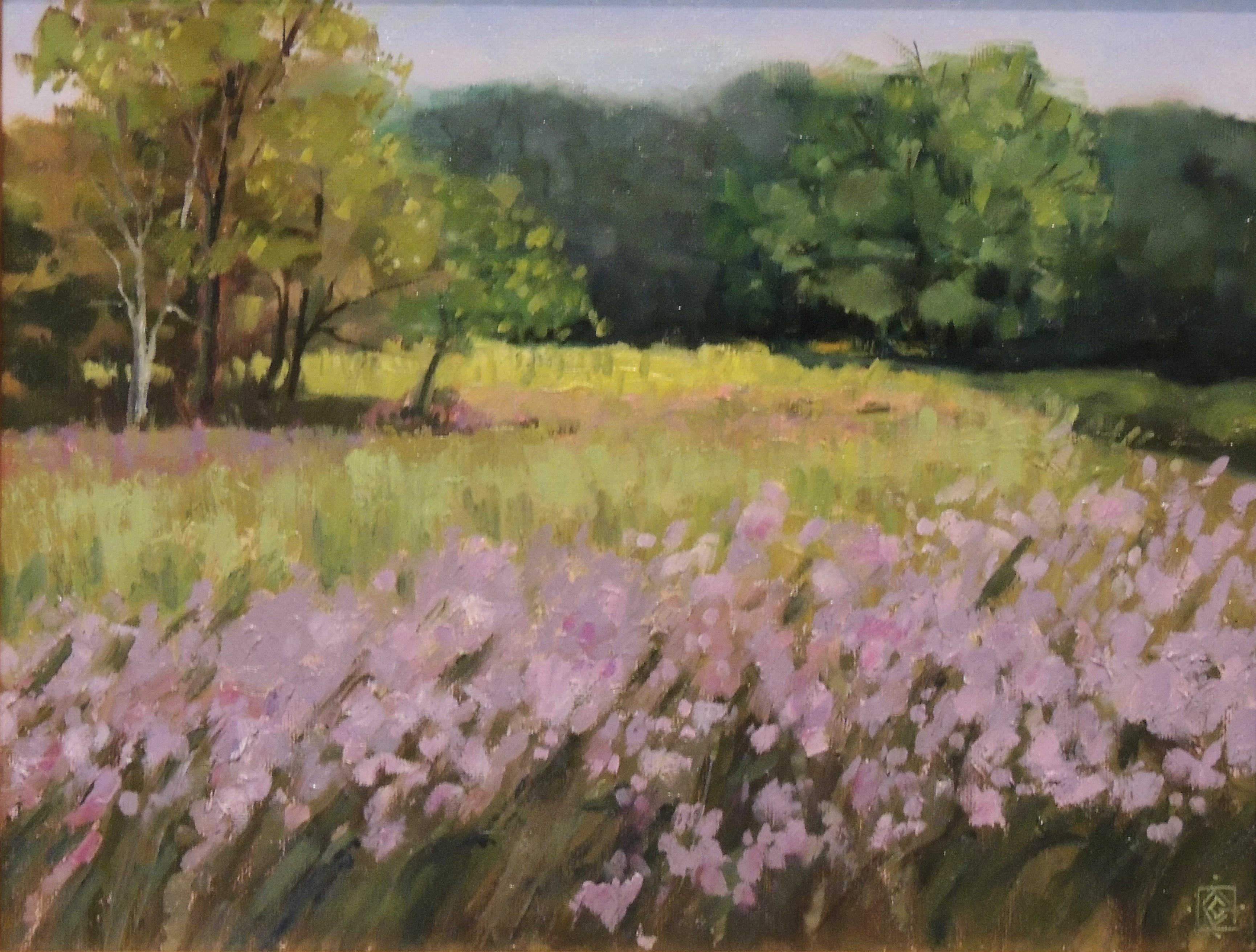 Carol Granger | HIGHBANKS MEADOW | oil | frame size 17x20