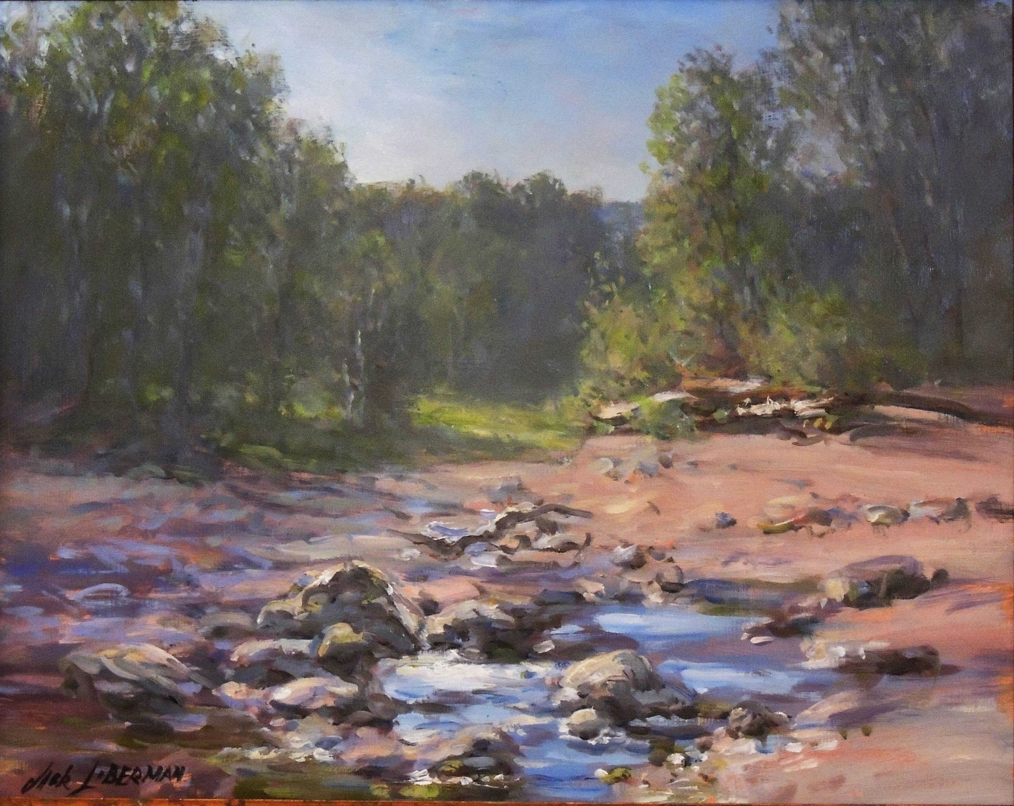 Jack Liberman | FURNANCE RUN, CUYAHOGA VALLEY NATIONAL PARK | oil | frame size 22x26