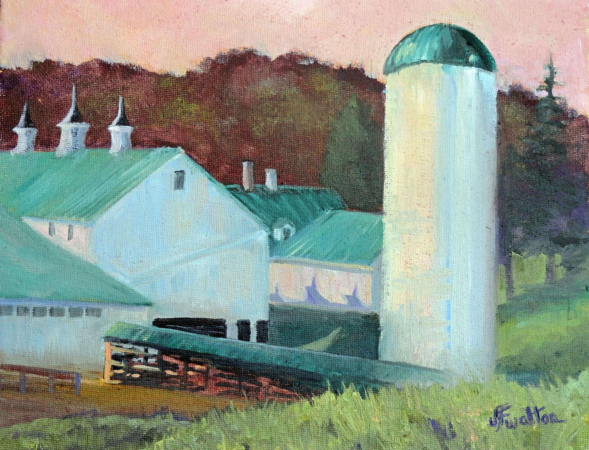 Judy Walton | MALABAR FARM STATE PARK | oil | frame size 10x12