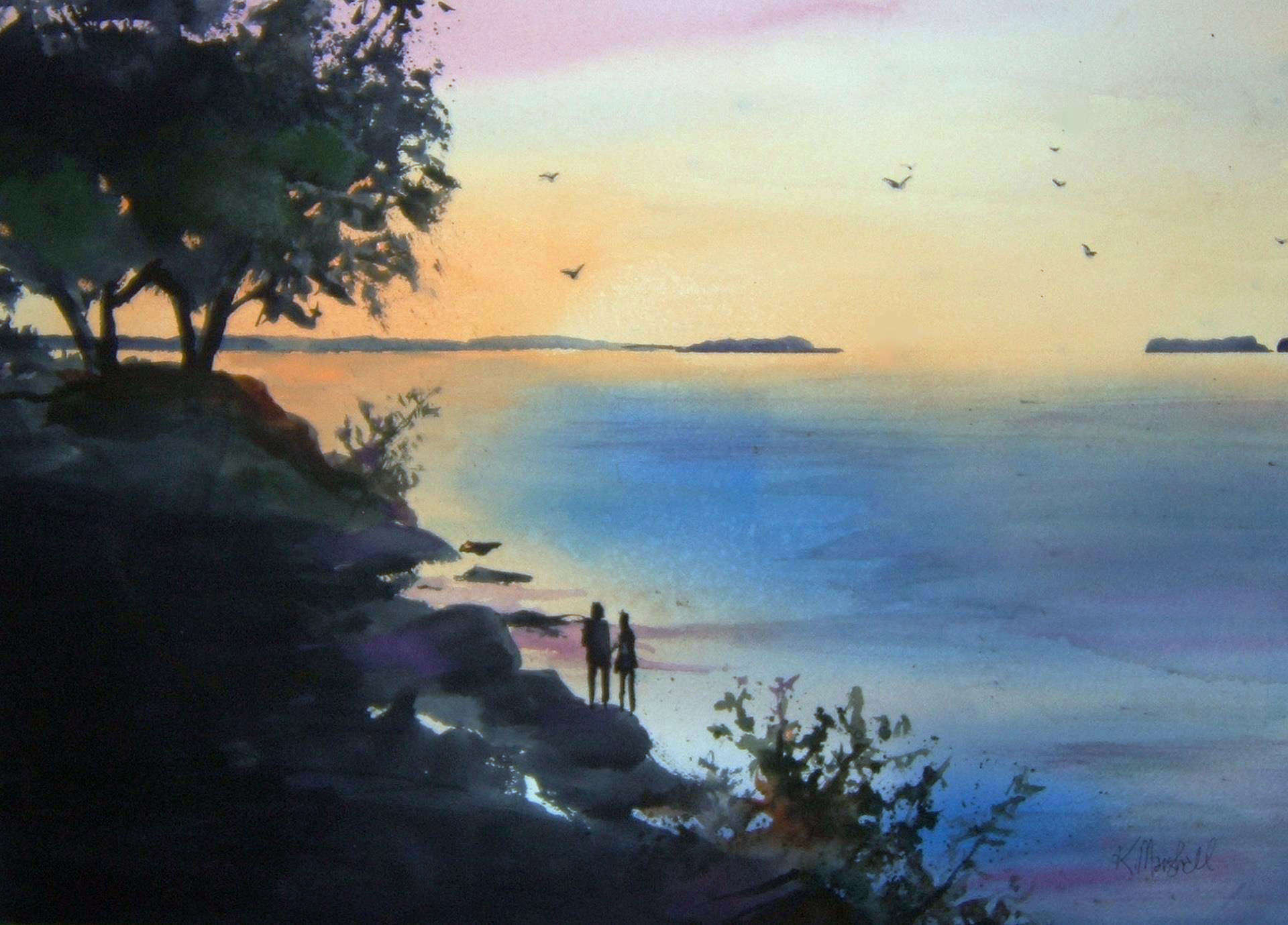 Ken Marshall | SUNSET AT LAKESIDE CHATAUQUA | 