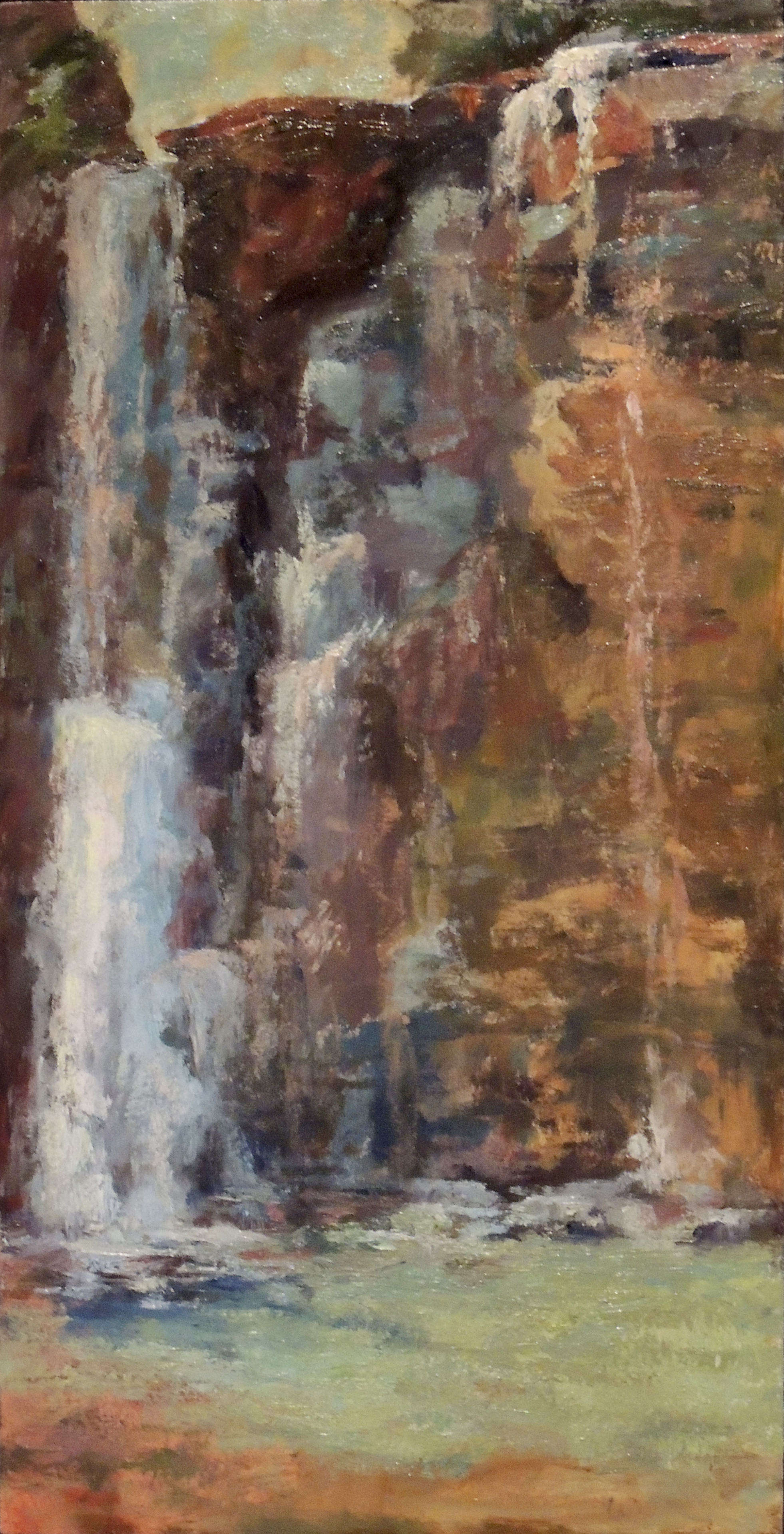 Michelle Walker | HAYDEN FALLS PARK | oil | gallery wrapped
