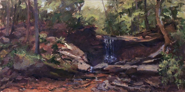 Nancy Hawkins | BLUE HEN FALLS | oil | 12x24