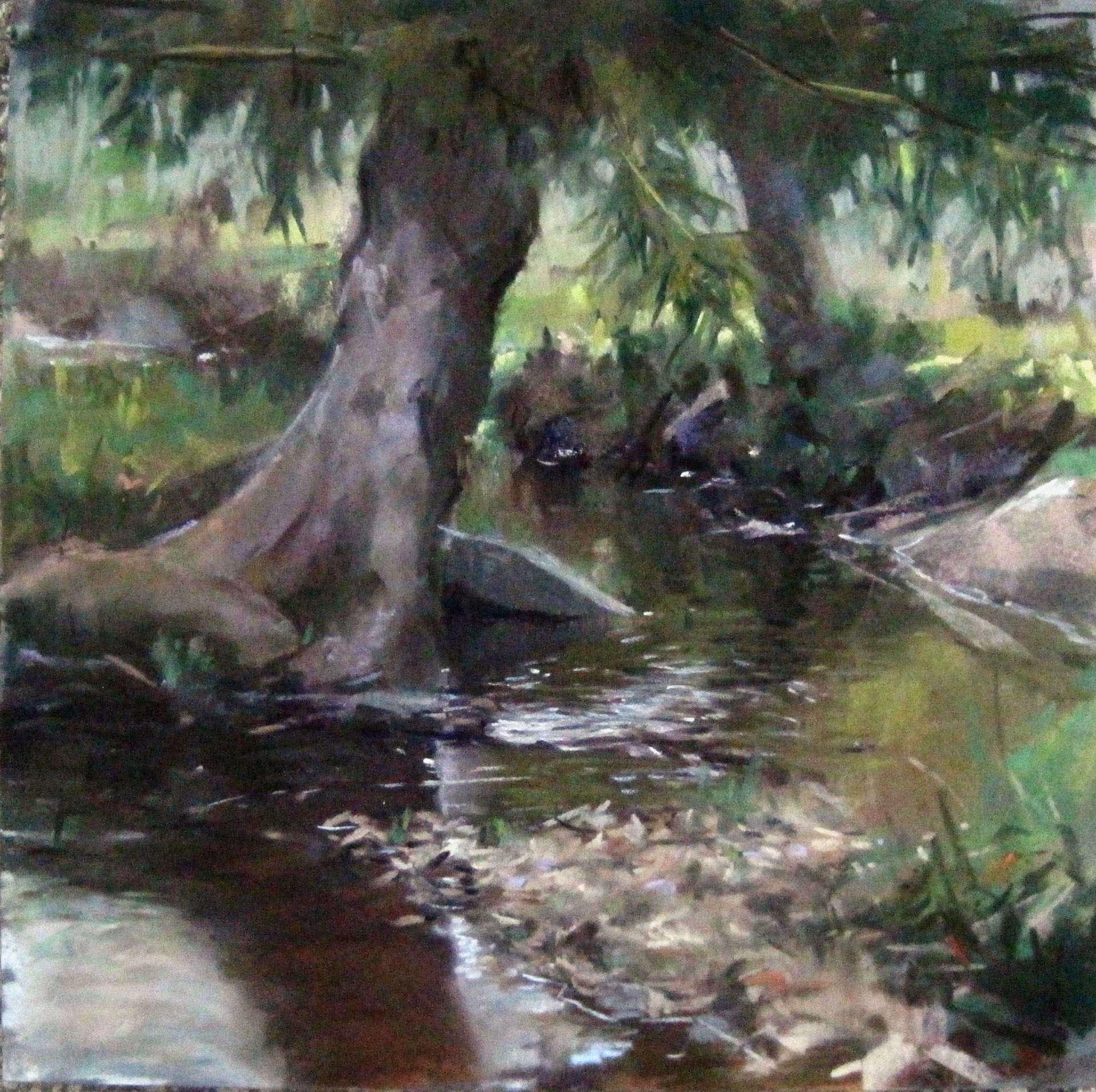 Ray Hassard | DARBY CREEK IDYLL | soft pastel | frame size 18x18