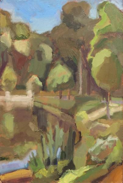 Penny Park | BRIGHT SUMMER MORNING | oil on panel