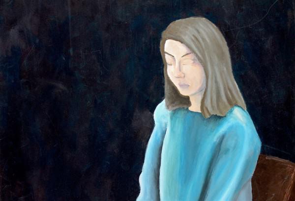 Rachel Littleton | A QUIET PLACE ABOVE THE CITY | acrylic on canvas | 2016