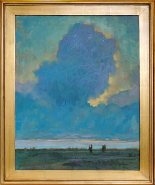Richard Clem | PRAIRIE DUSK | oil | 24 x 30""