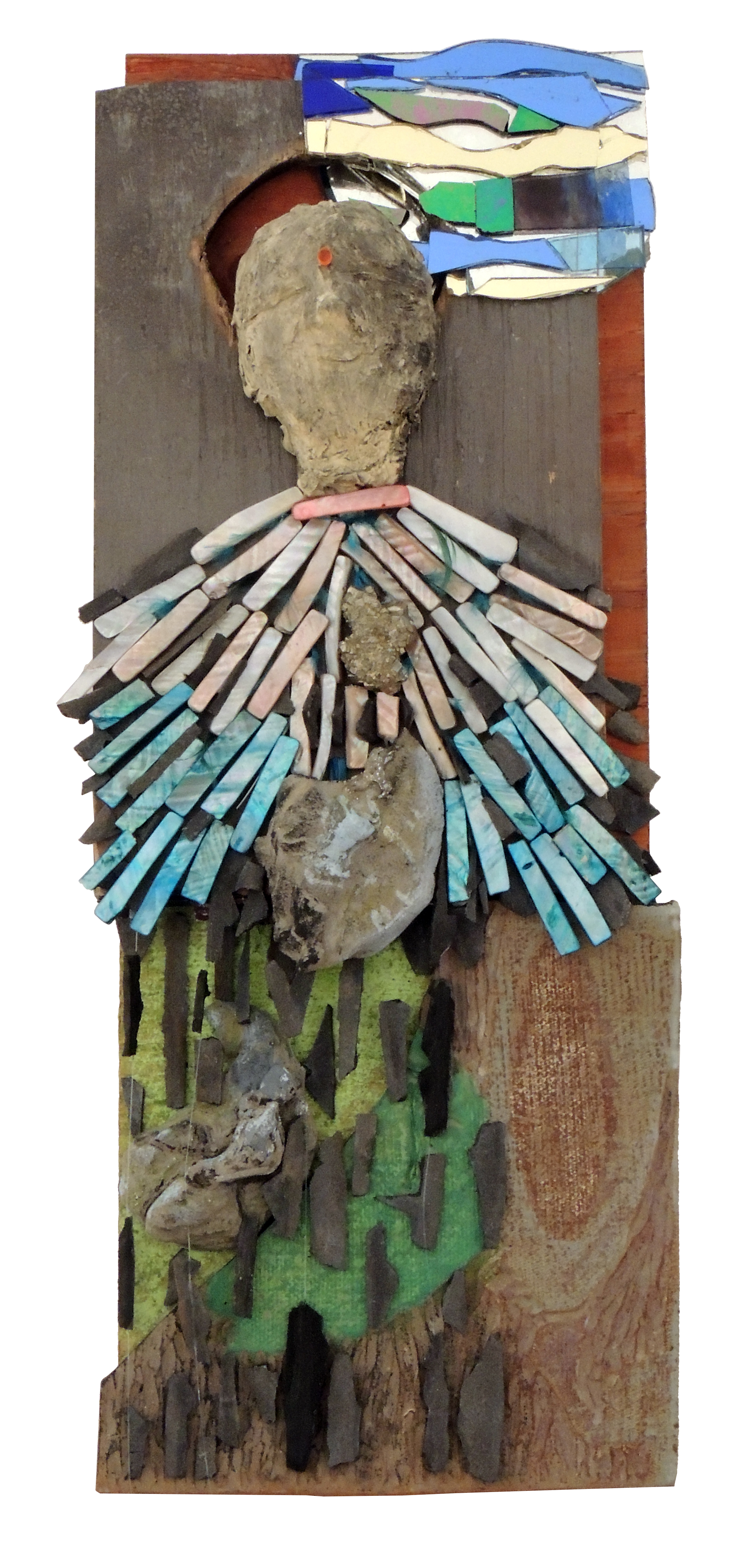 Robin Hastings | BOUND FOR HOME | Mixed media – found, acquired, and created objects