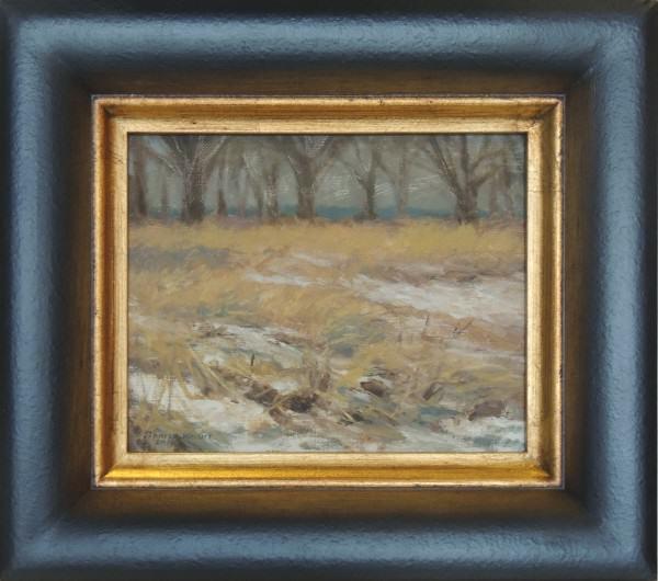 """Sharon Weaver   WINDSWEPT   oil   8 x 10"""""""