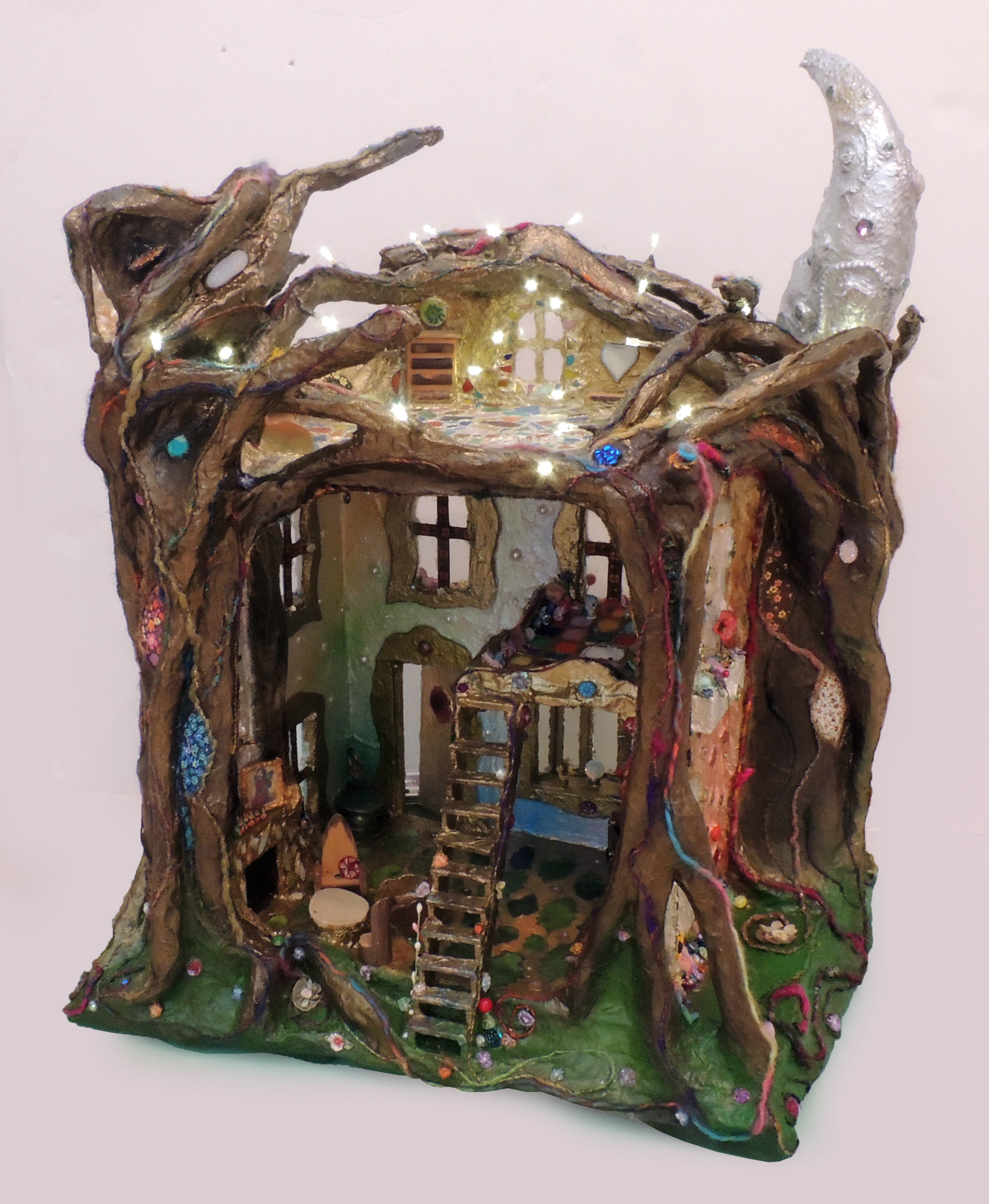 Sharri Phillips | FAIRY DOLLHOUSE | Mixed Media