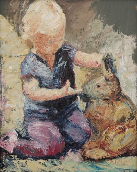Sherry Nelson | HERE BUNNY | ipasto oil