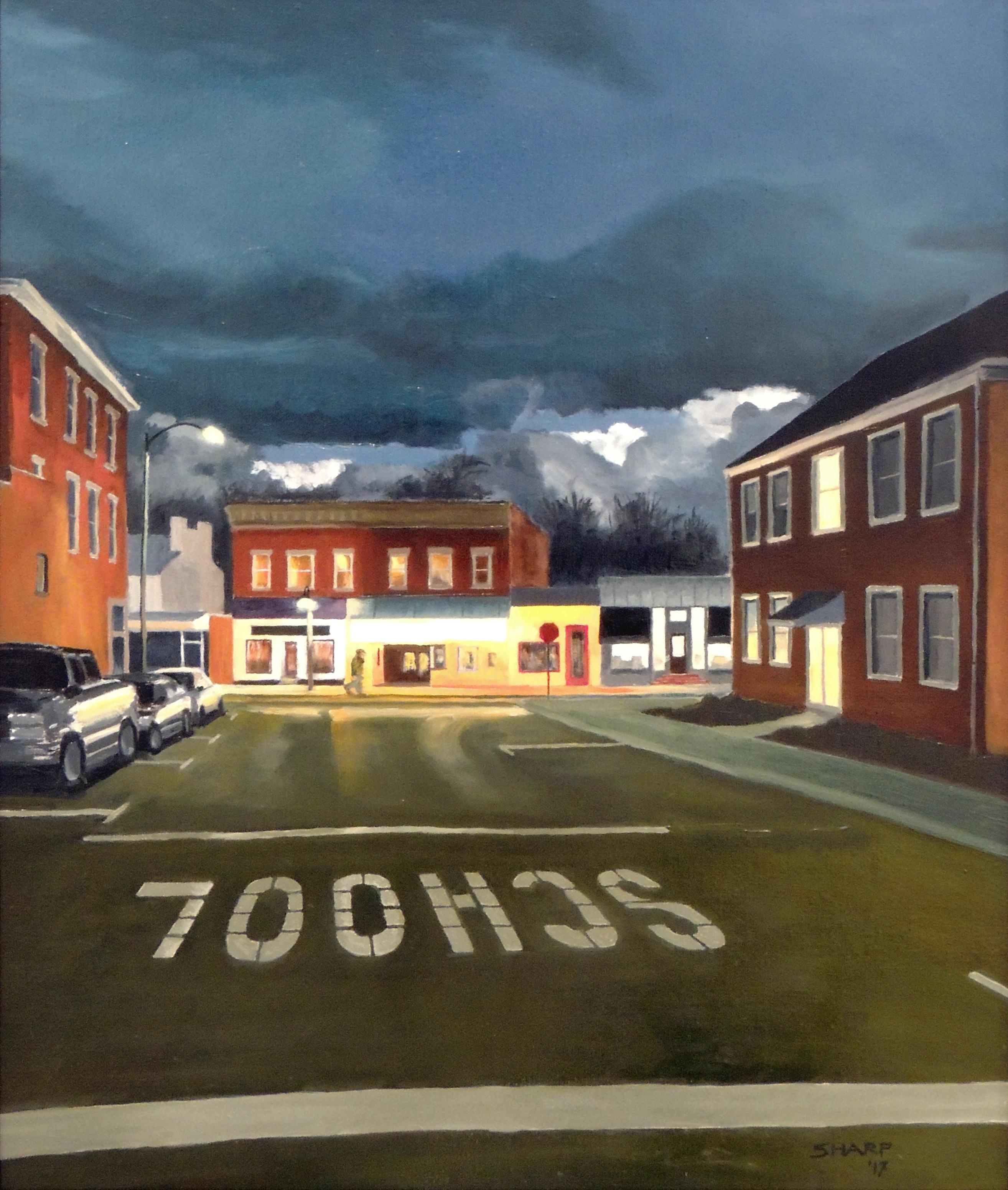 Stephen Sharp | LITTLE ART | Oil on linen