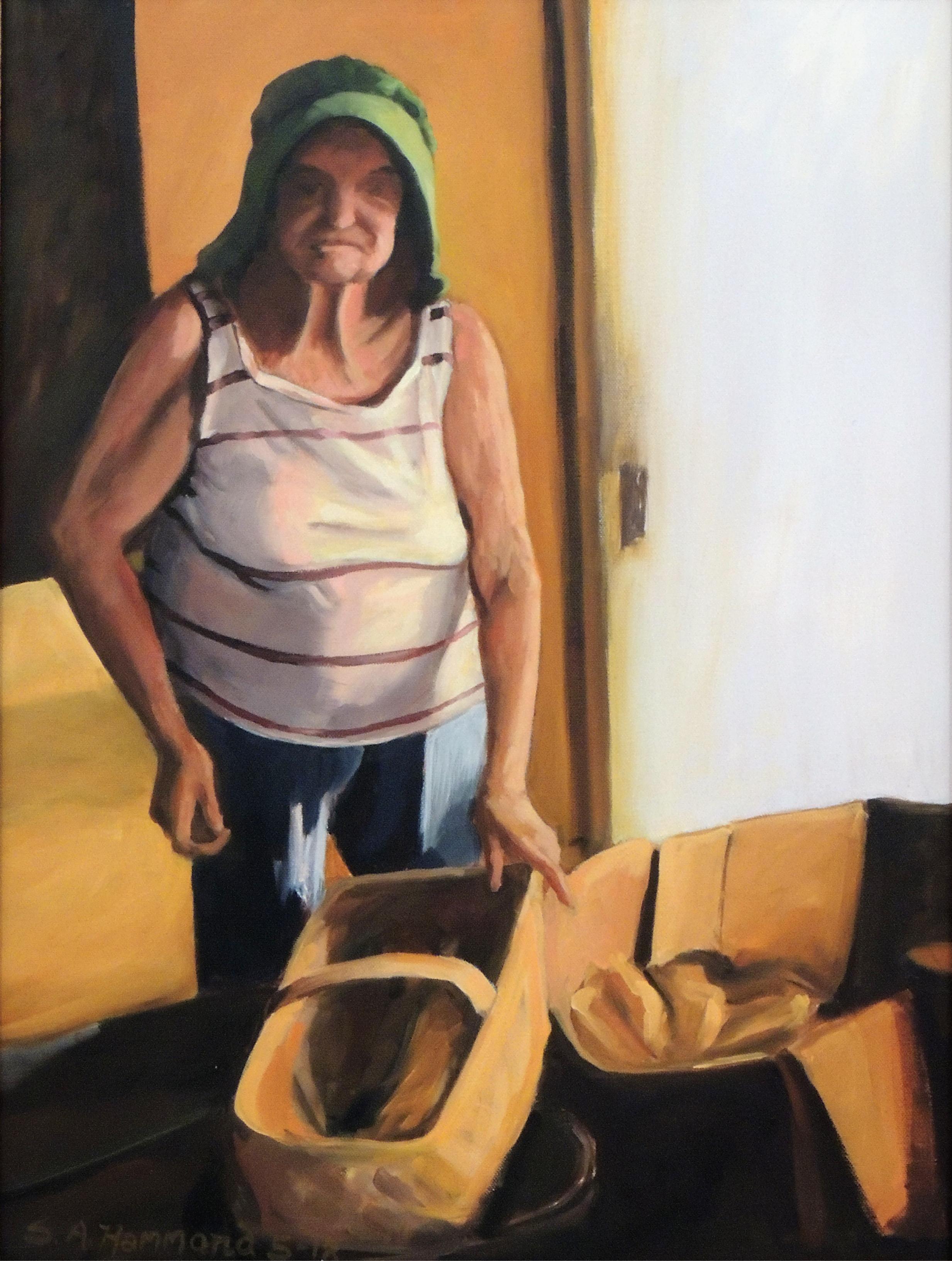 Sue A. Hammond | GRANNY GEORGIA | Oil