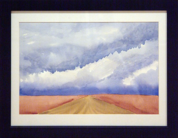 Ted Vander Roest | DISTANT SKY | transparent watercolor | 2013