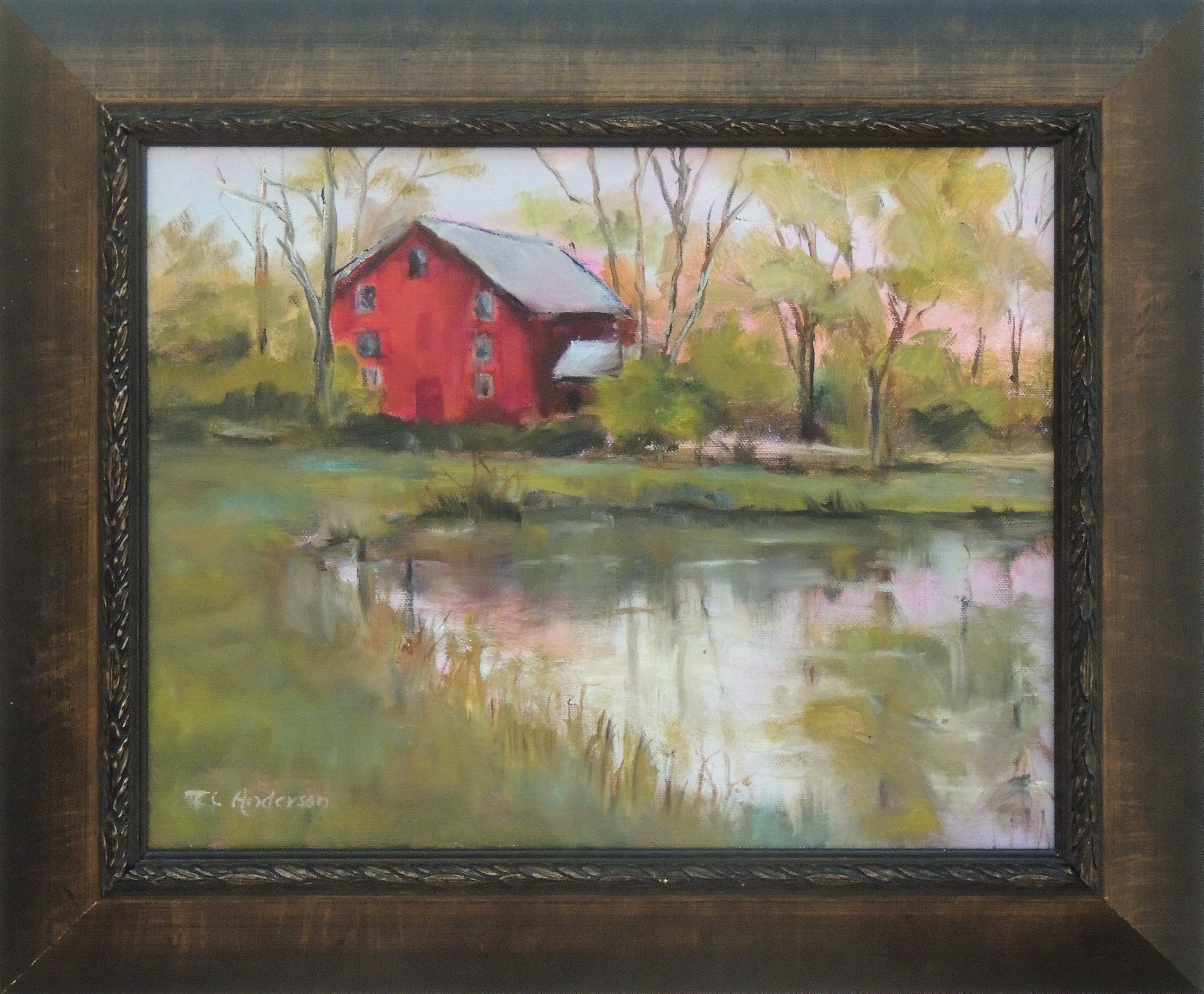 Terri Anderson | THE MILL | Oil